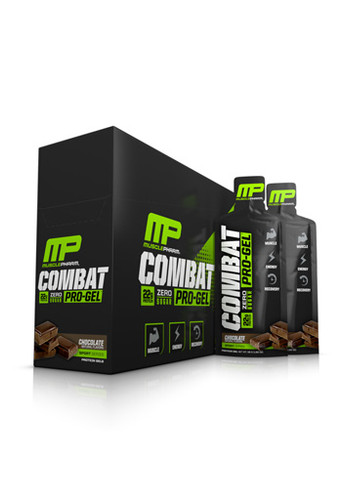 MusclePharm Combat Pro Protein Gel - Chocolate (Pack Of 12 Gels)