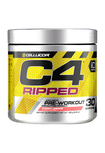 C4 RIPPED Pre-Workout  180Gm Cherry Limeade
