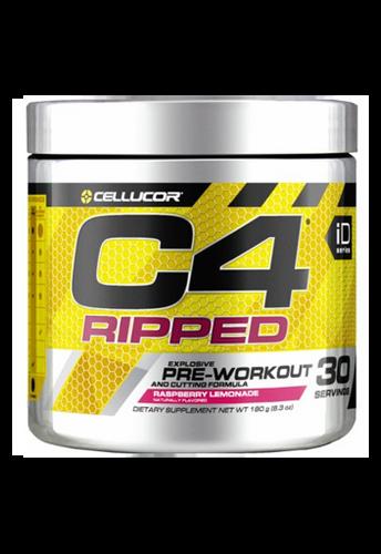 Cellucor C4 Ripped Explosive Pre-Workout 180Gm Raspberry Lemonade