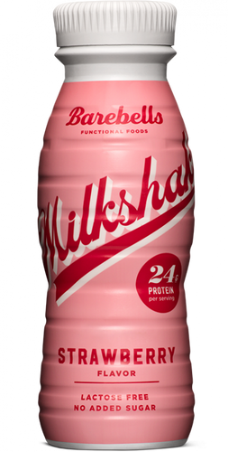 Barebells Protein Milk Shake Strawberry Flavor