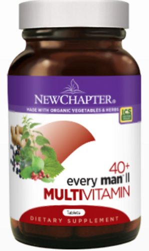 Every Man™ II Multivitamin  40+ 72 Tablets