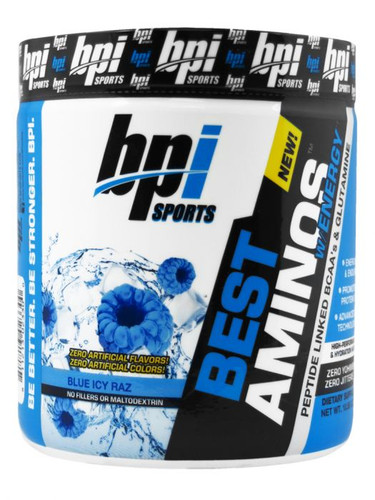 BPI Sports, Best Aminos W/ Energy, Blue Ice Raz