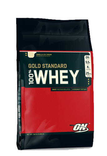 100% Whey Gold STD 10LB Strawberry