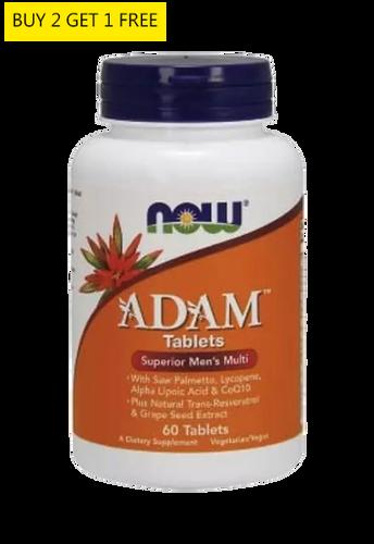 Now Foods, ADAM Men'S Multiple 60Tabs