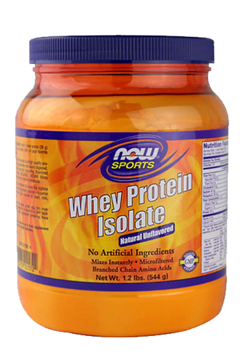 Now Foods, Whey Protien Isolate 1.2Lb Unflavored