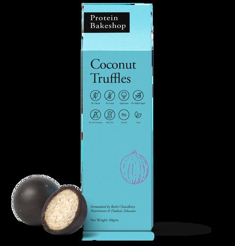Protein Bakeshop 60 Gms Coconut truffles