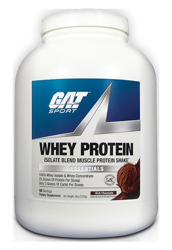 GAT Whey Protein 5Lb Rich Chocolate