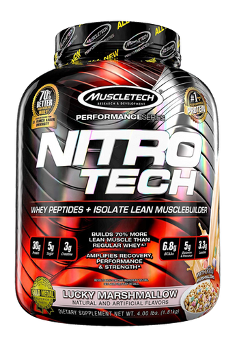 Nitro Tech Performance 4LB Lucky Marshmallow