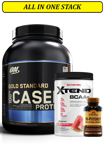 Casein Stack with BCAA, Multi-Vitamin