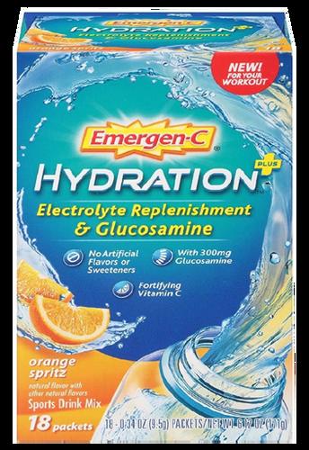 Emergen-C Hydration 18 Packets Orange Twist Flavor