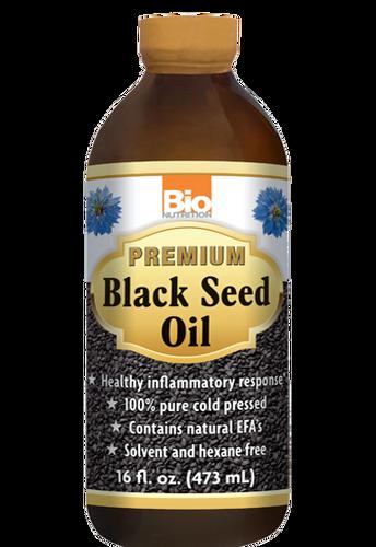 Bio Nutrition, Black Seed Oil 16Oz