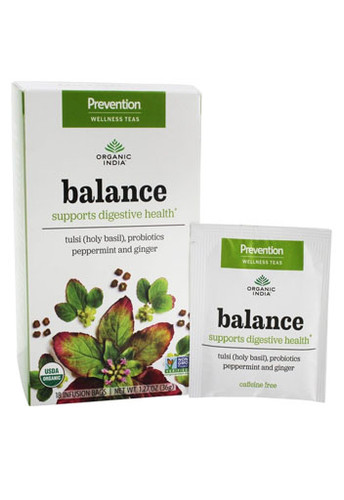 Organic India, Prevention Wellness Tea Balance - 18 Tea Bags