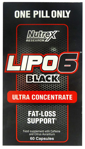 Nutrex Lipo 6 Black Ultra 60 Caps