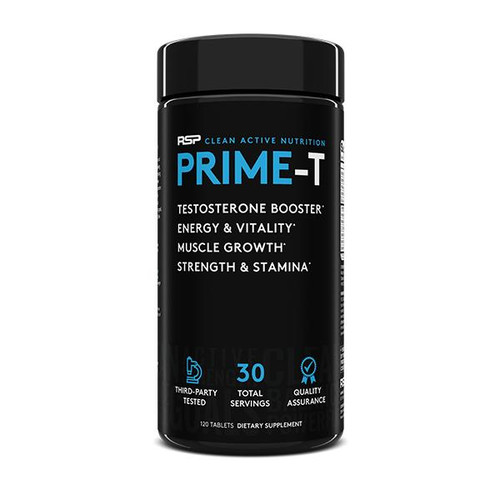 Prime-T 120 Tablets, 30 servings by RSP Nutrition