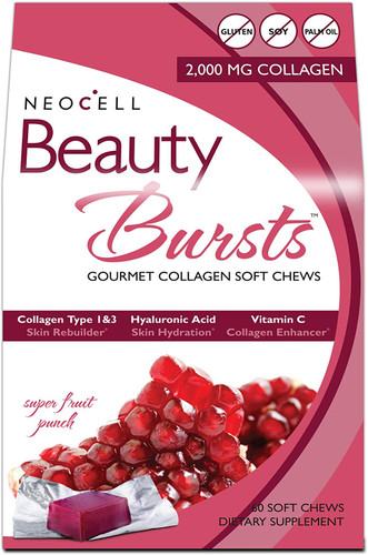 NeoCell Beauty Bursts Collagen  60-Soft Chews