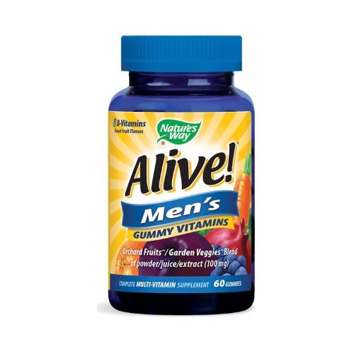 Nature's Way Alive! Men's Gummy Vitamins  60 Gummies