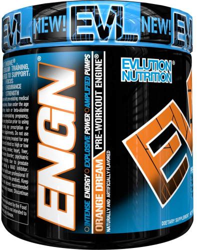 Evlution Nutrition ENGN Pre-Workout, Orange Dream, 30 Servings