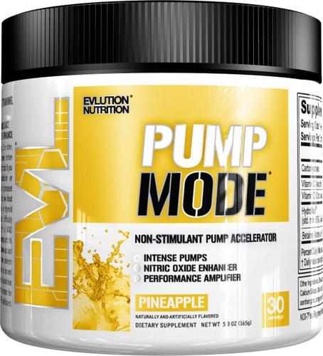 Evlution Nutrition Pump Mode, Pineapple, 30 Servings