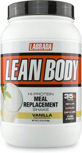 Labrada Nutrition, Lean Body Meal Replacement, Vanilla, 2.47 lb