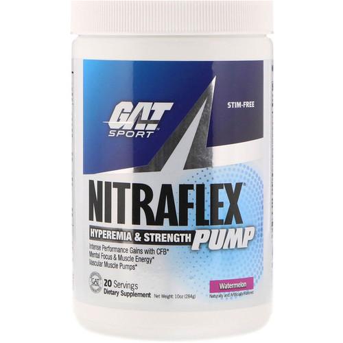 GAT, Nitraflex Pump, Watermelon, 10 oz (284 g)
