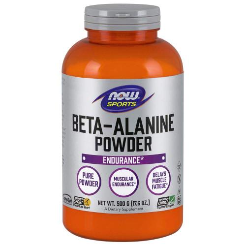 NOW Sports Nutrition, Beta Alanine Powder, 500 Grams