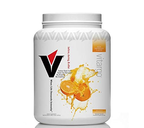 Vitargo Fuel for Athletic Performance, Before During After Workout, Orange, 4LB