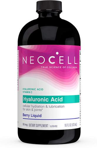 NeoCell - Hyaluronic Acid Blueberry Liquid - 16 fl. oz.