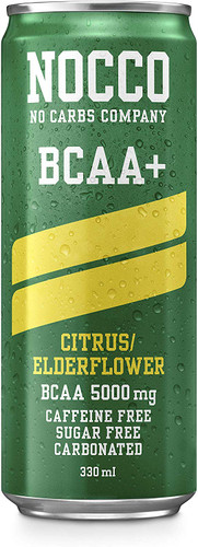 NOCCO BCAA+ Citrus/Elderflower 330 ml