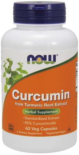 Now Foods, Curcumin, 665 Mg, 60 Veg Capsules