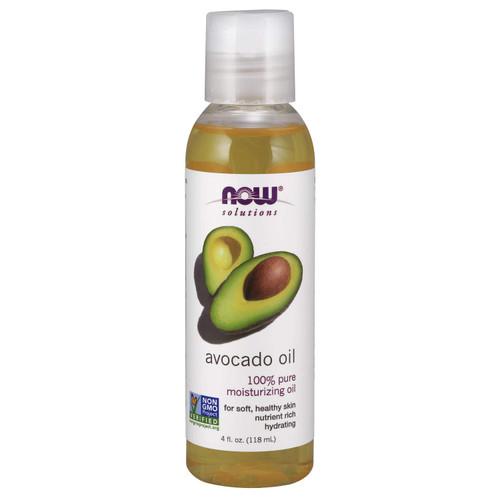 NOW Solutions, Avocado 100% Pure Oil, 4 Oz