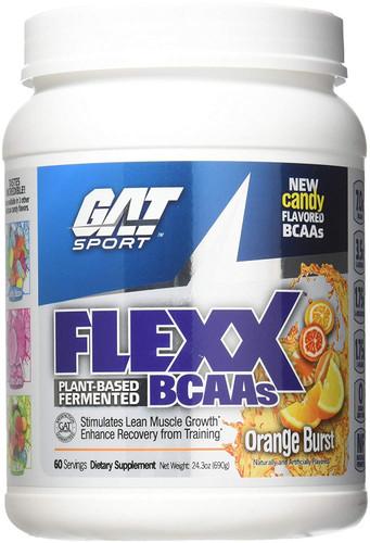 GAT Flexx Bcaa Orange Burst, 60 Servings, 690 Gram