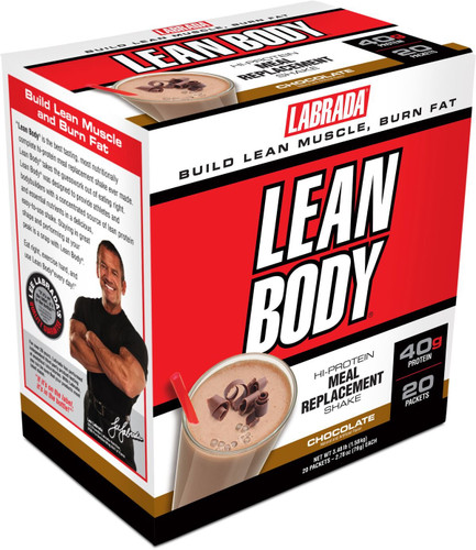 Labrada Nutrition Lean Body, Chocolate, 20 Packets