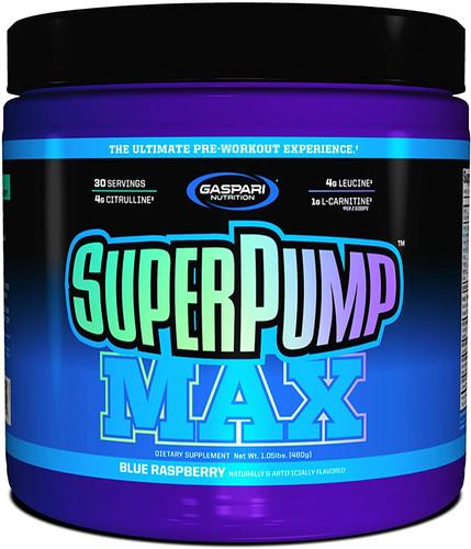 Gaspari Nutrition SuperPump Max  Blue Raspberry,480 g