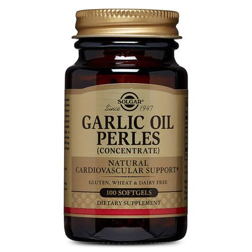 Solgar Garlic Oil Perles , 100 Softgels