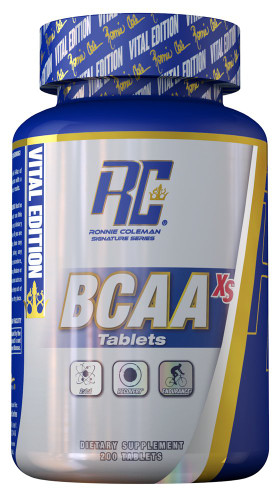 Ronnie Coleman Signature Series BCAA-XS, 200 Tablets
