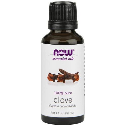 NOW Clove Oil, 100% Pure, 1 Oz