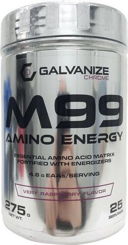 Galvanize Nutrition M99 Amino Energy, Very Raspberry, 25 Svg, 275 Gm