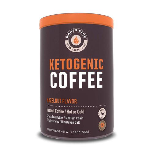 Rapid Fire Hazelnut Ketogenic Coffee, 7.93 Oz