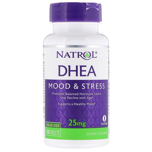 Natrol, DHEA, 25 mg, 180 Tablets