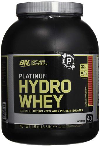 OPTIMUM NUTRITION Platinum Hydrowhey Protein Powder,Supercharged Strawberry, 3.5 Lbs