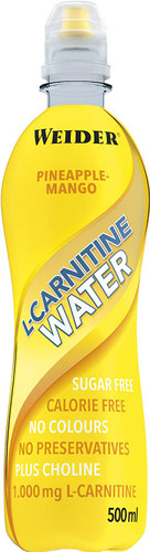 Weider L-Carnitine Water 500ml - Pineapple-Mango