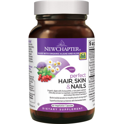 New Chapter Hair, Skin and Nails, 60 Capsules