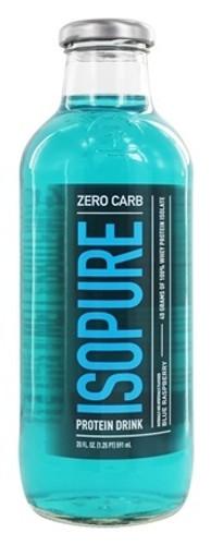 Nature's Best - Isopure Zero Carb RTD Blue Raspberry - 20 oz.