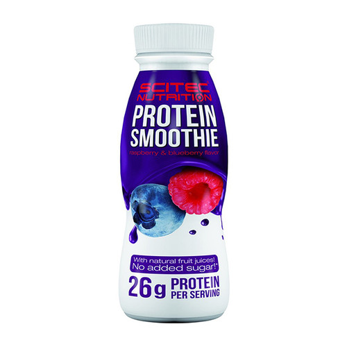 Scitec Nutrition Protein Smoothie RTD 330ml (Raspberry and Blueberry)