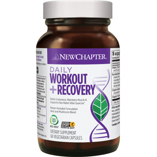 New Chapter Daily Workout + Recovery - 60 Capsules