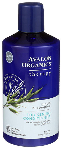 Avalon Organics Biotin B-Complex Thickening Conditioner, 397 gm