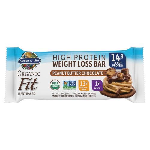 Garden of Life Organic Fit Bar Peanut Butter Chocolate