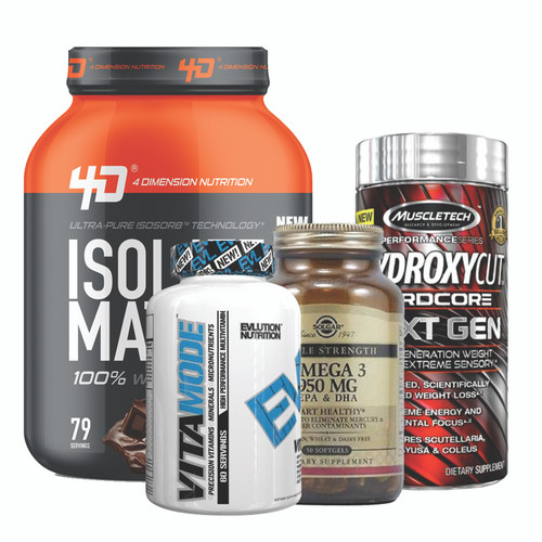 Isolate Matrix 5Lbs Chocolate - 4D Nutrition EVLUTION NUTRITION VITAMODE High Performance Multi-Vitamin 120 Servings Solgar Omega - 3 - 950Mg Non Flavoured 100 Soft Gels Hydroxycut Hardcore Next Gen 100 Caps