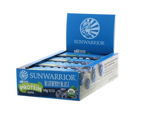Sunwarrior Blueberry Blast Bars,