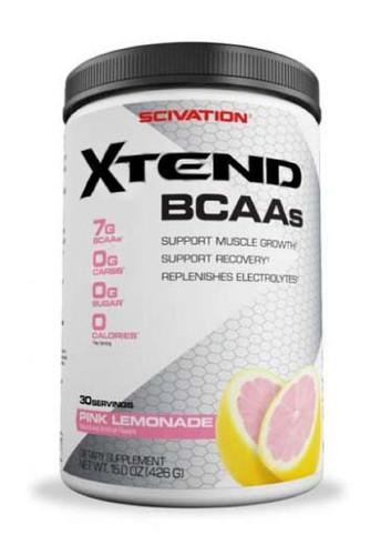 Scivation Xtend BCAA - Pink Lemonade, 30 Servings